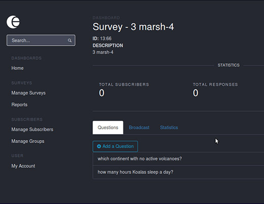 SNAP Survey Platform